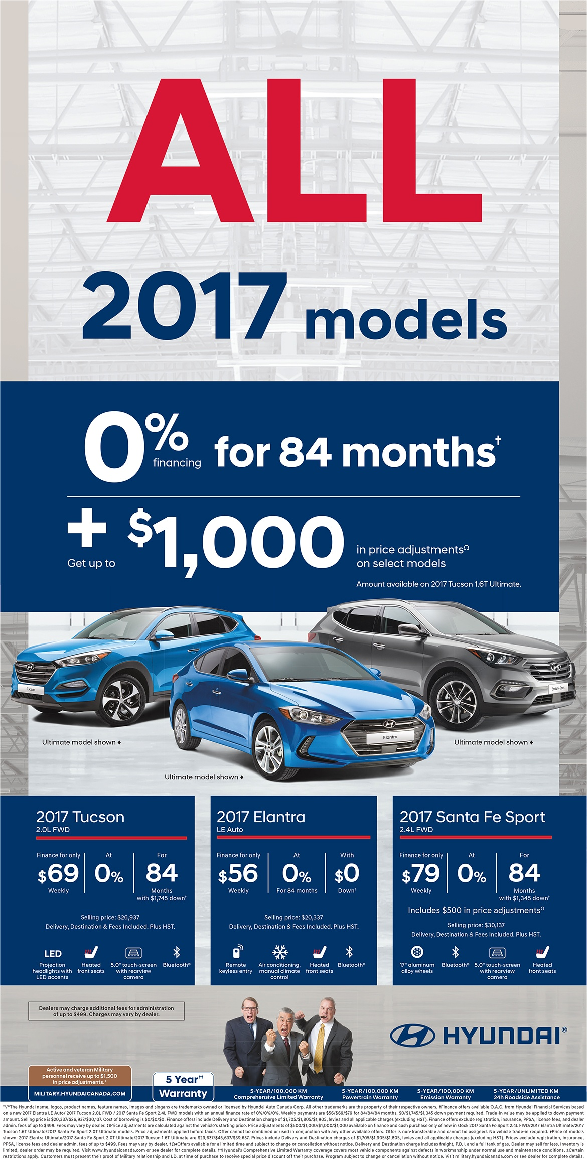 Hyundai 2017 All Model Clearout